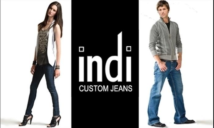 Indi - Cincinnati: $85 for $155 Worth of Custom-Fit Jeans at Indi