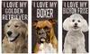 I Love My Dog Sign: I Love My Dog Sign
