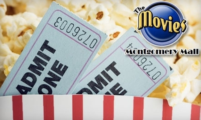 The Movies at Montgomery Mall - Potomac: $10 for a Movies Golden Ticket and All-You-Can-Eat Popcorn and Soda at The Movies at Montgomery Mall in Bethesda (Up to $21 Value)