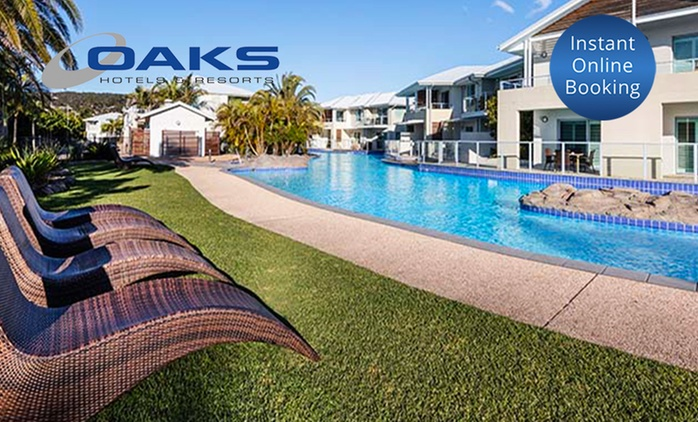 Port Stephens: 2 to 3 Nights for Up to Six People at Oaks Pacific Blue Resort