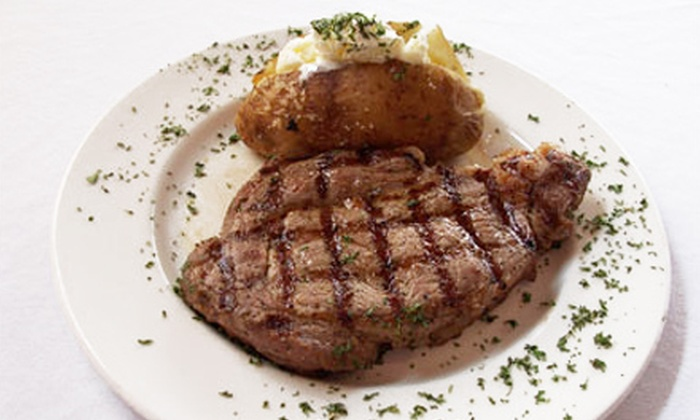 Landers Steakhouse - Tampa Bay Area: Hearty American Steak-House Fare and Drinks for Dinner or Lunch at Landers Steakhouse (Half Off)