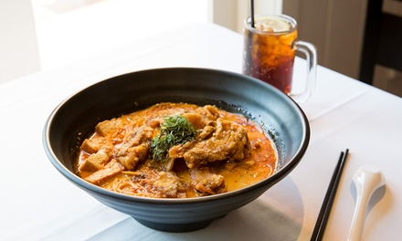 $8.90 for for Fish Curry Laksa or Seafood Curry Laksa with Soft Drink at Ocean Seafood Bar Up to $19.80 Value