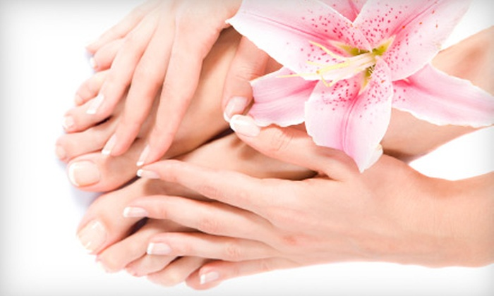 Zen Salon - Appleton: Shellac Manicure or a Standard Mani-Pedi at Zen Salon of Appleton