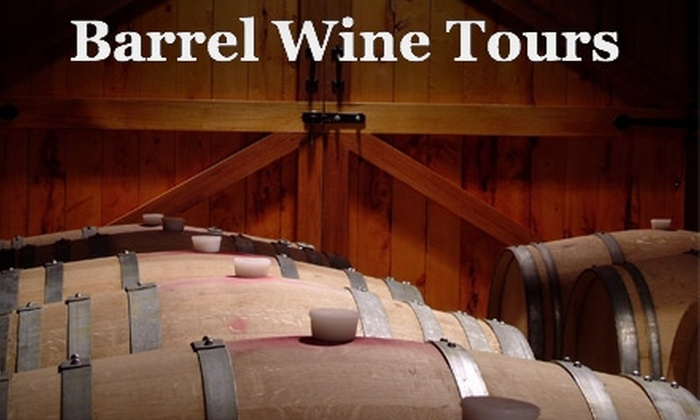 Barrel Wine Tours - Multiple Locations: $89 for a Tour of Woodinville's Boutique Wineries from Barrel Wine Tours