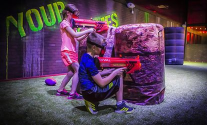 image for Virtual Reality, Laser Tag, and <strong>Mini Golf</strong> Options at Virtual Sports (Up to 60% Off)