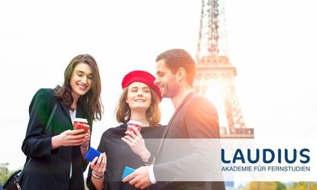 Online-Sprachkurs Französisch für Anfänger, optional mit Fernlehrerbetreuung, von Laudius
