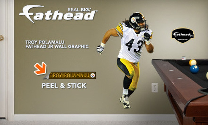 Fathead - North Jersey: $30 for a Fathead Jr. Wall Graphic with Free Shipping (Up to $64.98 Value)