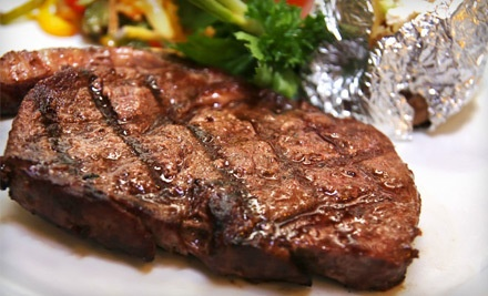 All-You-Can-Eat Brazilian Steakhouse or Sushi Lunch for Two (a $62 value) - Angus Grill Brazilian Steakhouse in Houston