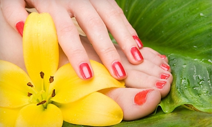 Polished Nail Salon - Cleveland Heights: $25 for a Mani-Pedi at Polished Nail Salon in Cleveland Heights ($55 Value)