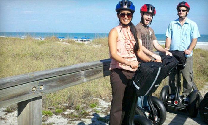 Space Coast Segway Tours, LLC - Multiple Locations: $29 for a Guided Segway Tour of Port Canaveral or Cocoa Beach from Space Coast Segway Tours, LLC ($65 Value)