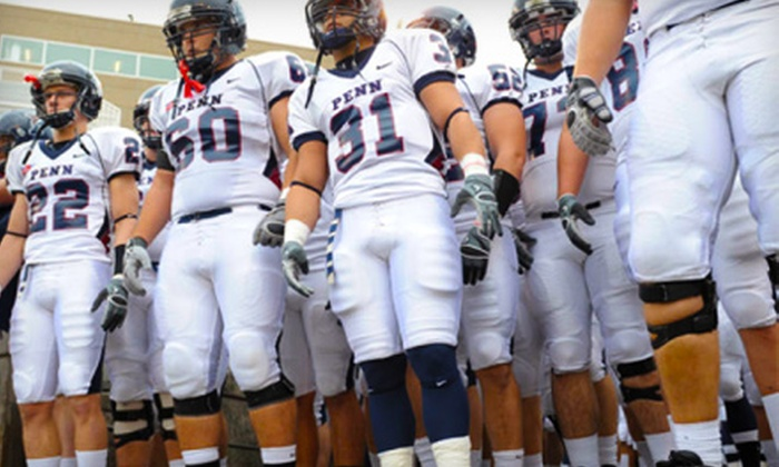 Penn Football - Multiple Locations: Two or Four Tickets for University of Pennsylvania Football at Franklin Field on September 17 or October 8 at 6 p.m.