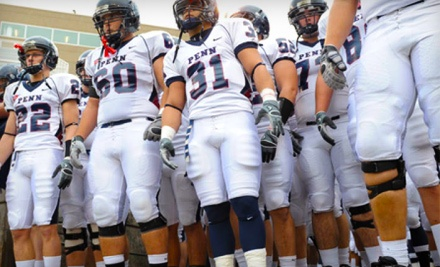 Choice of University of Pennsylvania Football Game on 9/17/11 vs. Lafayette, or 10/8/11 vs. Fordham at Franklin Field: 2 General-Admission Tickets ($8 value) - Penn Football in Philadelphia