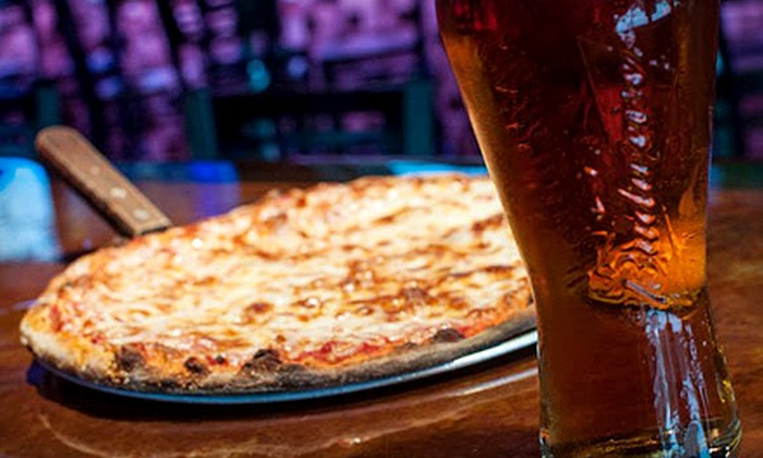 381 Main Bar & Grill - Singac: One or Two Pizzas with Wings and Beer Available During the Week or Weekend at 381 Main Bar & Grill (Up to 55% Off)