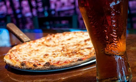 One or Two Pizzas with Wings and Beer Available During the Week or Weekend at 381 Main Bar & Grill (Up to 55% Off)