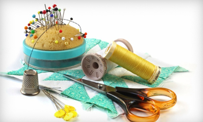 Quality Sewing & Vacuum - Multiple Locations: $19 for an Introduction to Sewing Class ($50 Value)
