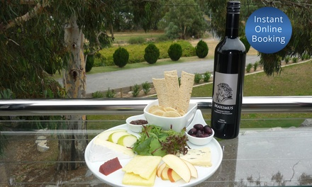 McLaren Vale Reds Tasting + Produce Platter + Bottle of Wine $35, or 4 $69 at Maximus Wines Up to $160 Value