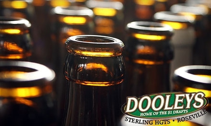 Dooleys Tavern - Multiple Locations: $10 for $30 Worth of Pub Fare and Drinks at Dooleys Tavern