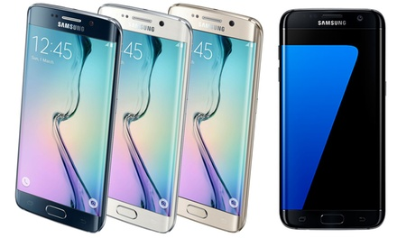 Refurbished Unlocked Samsung Galaxy S6, S6 Edge, or S7 Edge With Free Delivery
