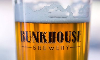 image for Brewery Bundles for One, Two or Four People at The Bunkhouse Brewery (Up to 52% Off)