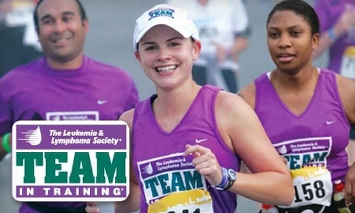 The Leukemia & Lymphoma Society - Napa / Sonoma: $25 for Registration to The Leukemia & Lymphoma Society's Team In Training Program ($100 Value)