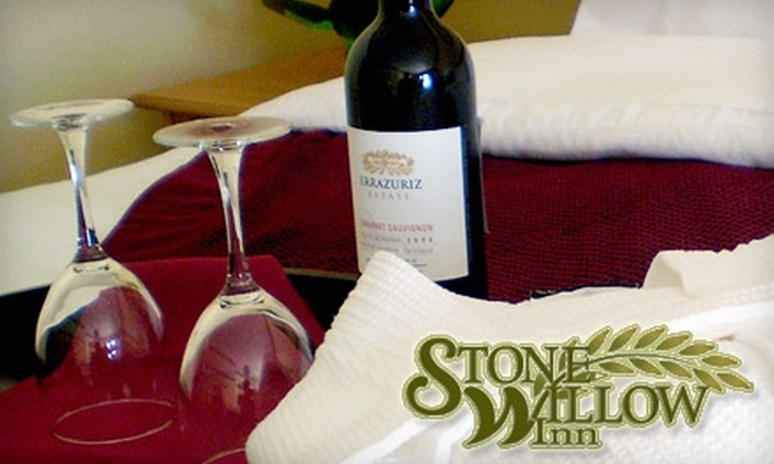 Stone Willow Inn - St. Mary's: $89 for a One-Night Stay in a Premium Room and $20 Toward Any Meal at the Stone Willow Inn