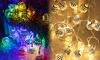 LED Moroccan Globe String Lights