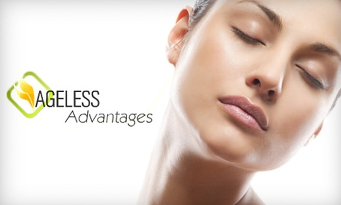 Ageless Advantages - Rockville: $150 for 3 Laser Hair-Removal Treatments at Ageless Advantages in Rockville (Up to $600 Value)