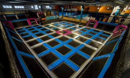 1, 2 ou 4 entrées pour le trampoline park d'1h dès 7,90 € chez Indoor 45