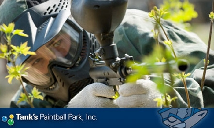 Tank's Paintball - Houston: $20 for an All-Day Pass, Equipment, Unlimited Air, and 500 Paintballs at Tank's Paintball in Katy