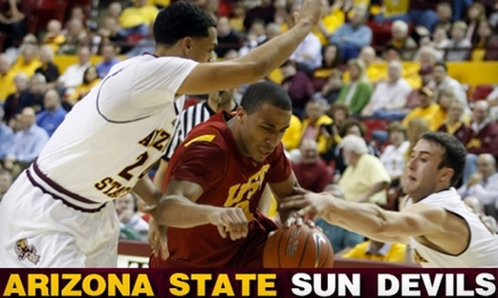 Arizona State Sun Devils - Downtown Tempe: Tickets to Arizona State University Men's Basketball Games. Two Dates Available.