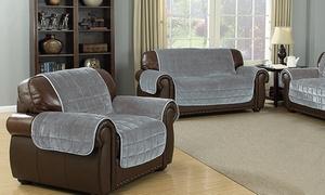 Heavy Flannel Reversible Waterproof Furniture Cover