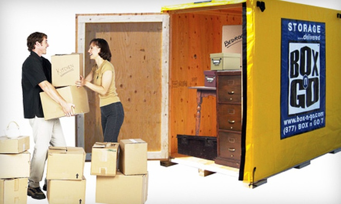 Box-n-Go Storage - Commerce: Delivery-Based Self-Storage or Local Move with Storage Pod from Box-n-Go Storage (Up to 69% Off)