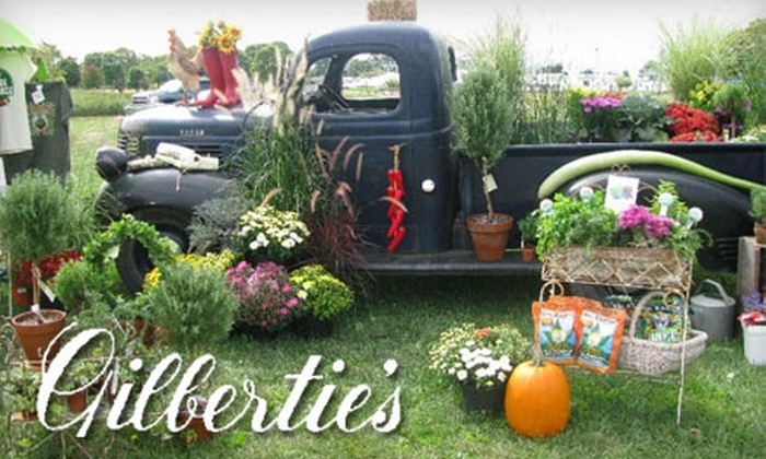 Gilbertie's Herb Gardens - Westport: $15 for $30 Worth of Organic Plants, Pumpkins, and More at Gilbertie's Herb Gardens