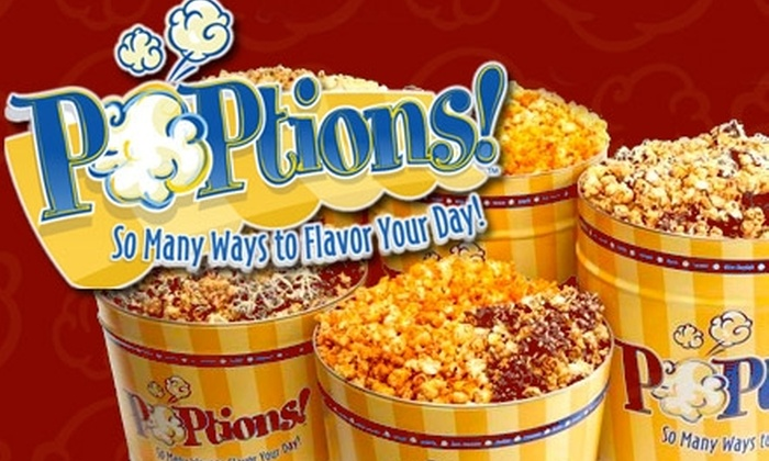 POPtions! - Ladue: $7 for $14 Worth of Gourmet Popcorn at Poptions!