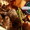 58% Off Steakhouse Fare at Louis Benton