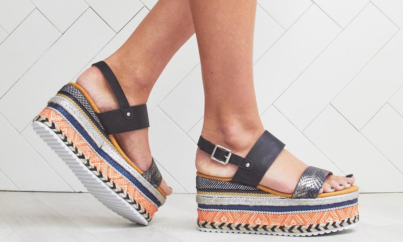 Women's Flatform Wedge Sandals