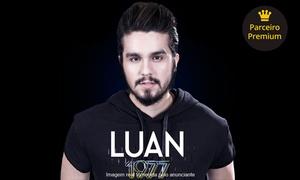GP Produções: Show de Luan Santana - Red Eventos: 1 ou 2 ingressos para pista lateral, área VIP, setor premium ou camarote, dia 13/05
