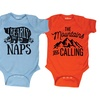 Infant Boys' Camping-Themed Bodysuits
