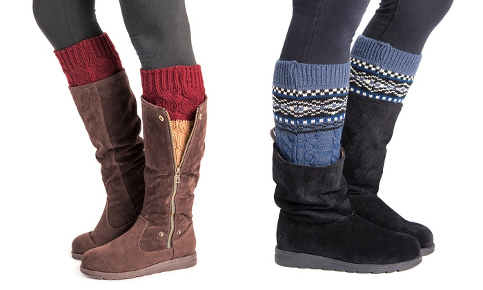 Muk Luks Boot Toppers (2-Pairs)