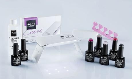 Lámpara portatil LED, Base y Acabado DryFix, esmaltes semipermanentes y accesorios para uñas LCI