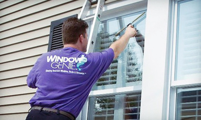 Window Genie - Charlotte: Interior and Exterior Cleaning of 15 Windows or Exterior Cleaning of 25 Windows from Window Genie (Up to 57% Off)
