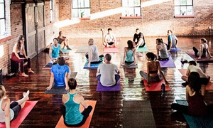 Up to 38% Off Drop-In Yoga Classes at Flow Space at Flow Space, plus 6.0% Cash Back from Ebates.
