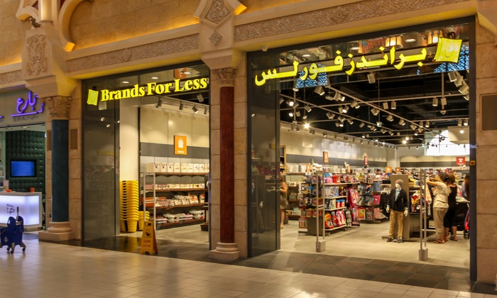AED 100 Towards the Store Purchase - Brands For Less | Groupon