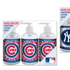 MLB Hand Lotion, Hand Soap, and Hand Sanitizer Set (8 Fl. Oz. Each)