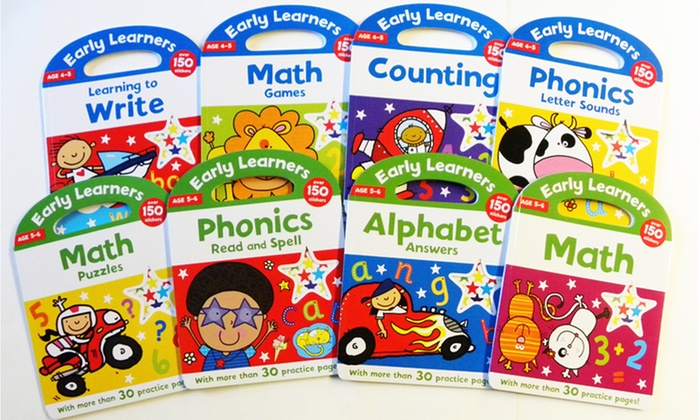 Early Learners Educational 8-Book Bundle: Early Learners Educational 8-Book Bundle