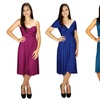 Women's Transformable Infinity Plus-Size Dress