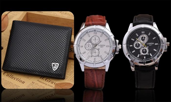Orologio Londa681 e portafoglio
