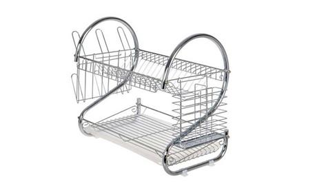 Two-Tier Kitchen Dish Drying Rack bbc4fbea-43b6-11e8-bdcd-00259069d868