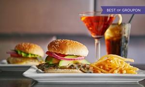 PER NOI | Restaurant & Bar: Burger-Menü nach Wahl inkl. Aperitif für 2 oder 4 Personen im PER NOI | Restaurant & Bar (bis zu 52% sparen*)