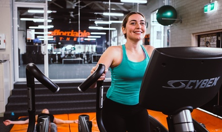 21 Days of Access to Yoga, Pilates & Fitness Classes: 1 $21 or 2 People $40 at Affordable Fitness Up to $220 Value